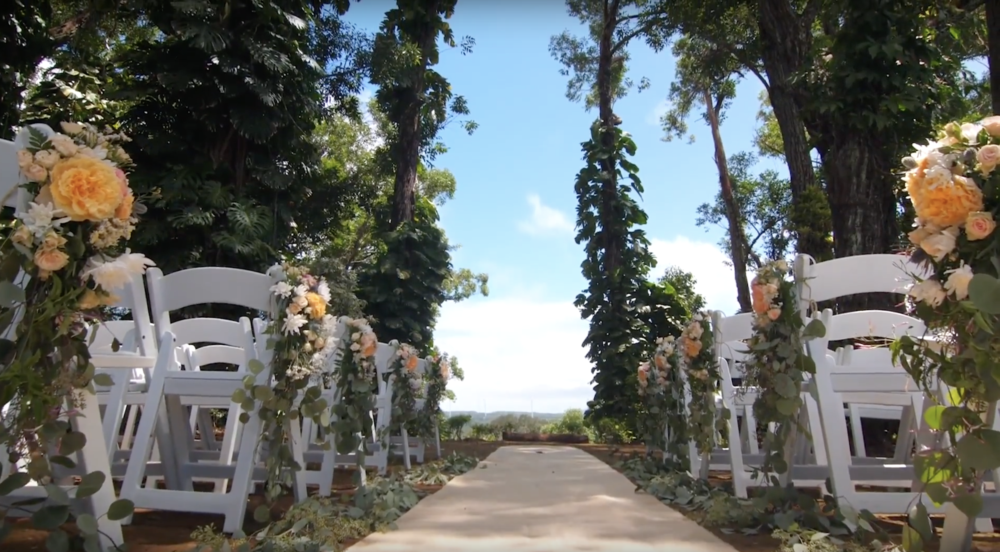 Sunset Ranch Oahu Wedding Videographer
