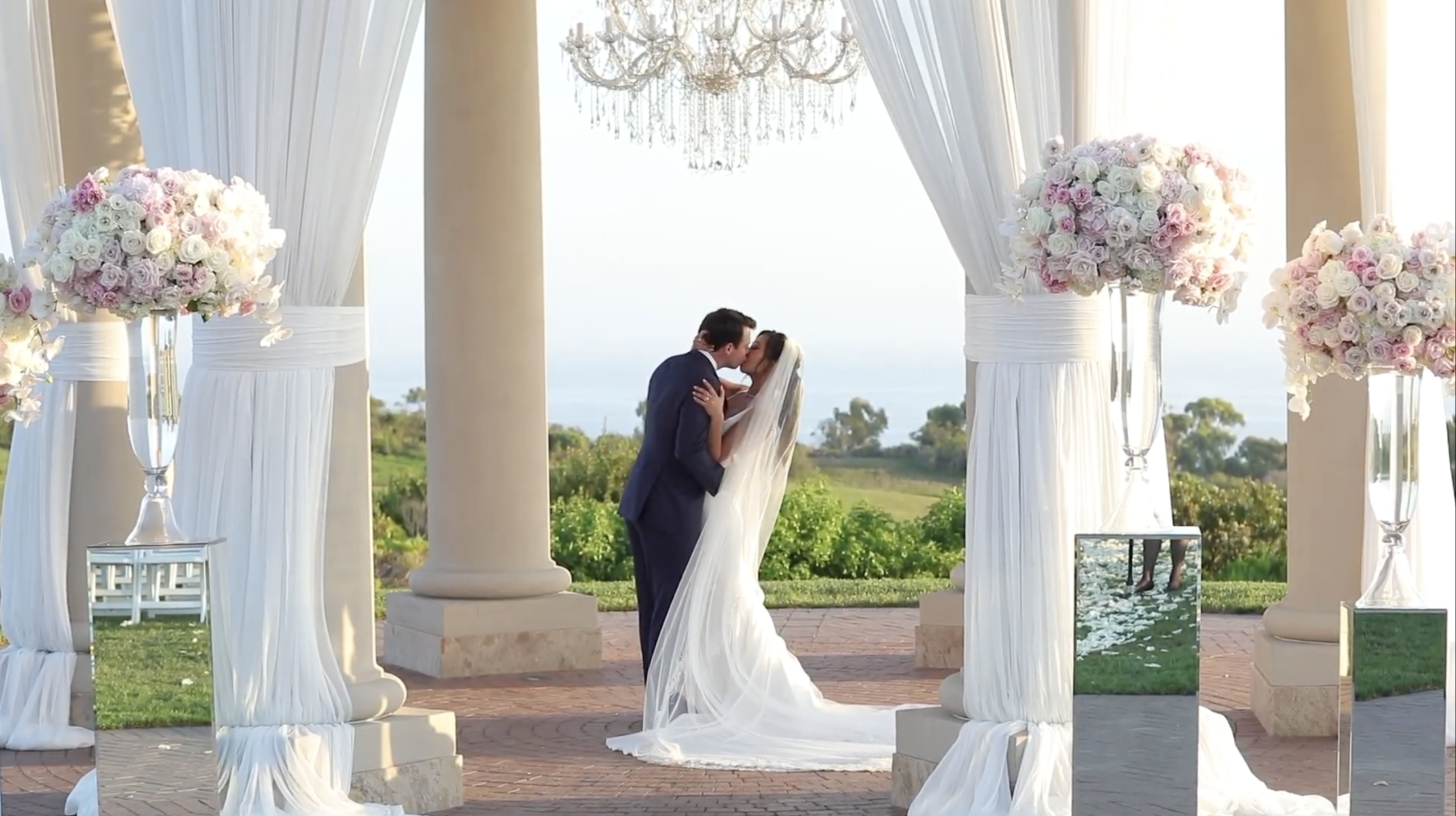 pelican hill wedding video
