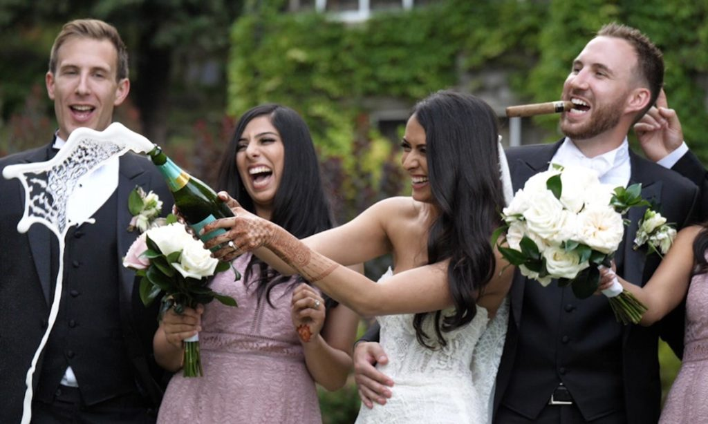 british columbia wedding video