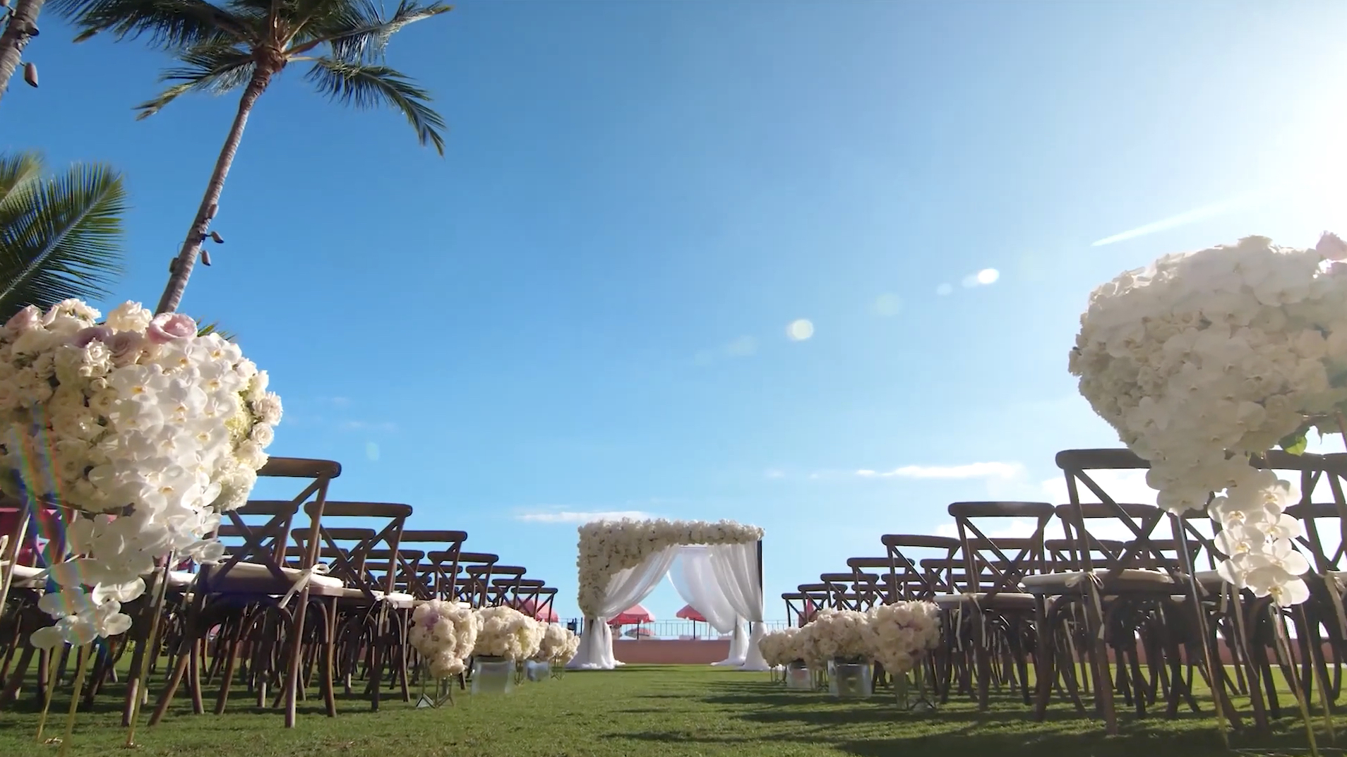 Royal Hawaiian Wedding Video