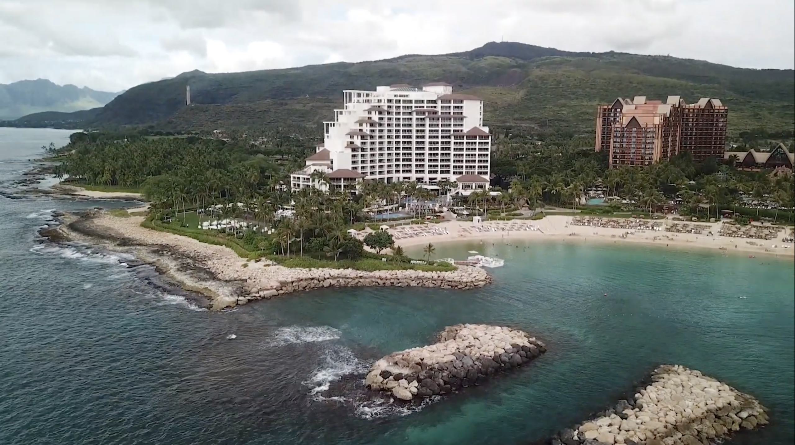four seasons oahu wedding video